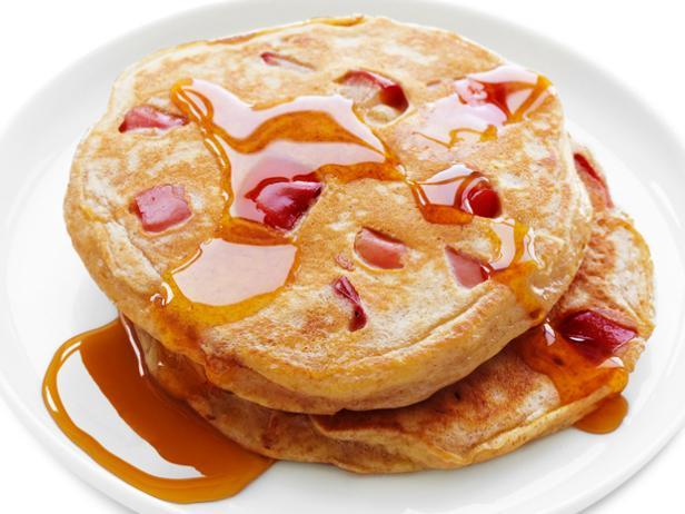 Whole-Wheat Apple Pancakes