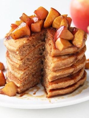 Apple-Caramel-Pancakes